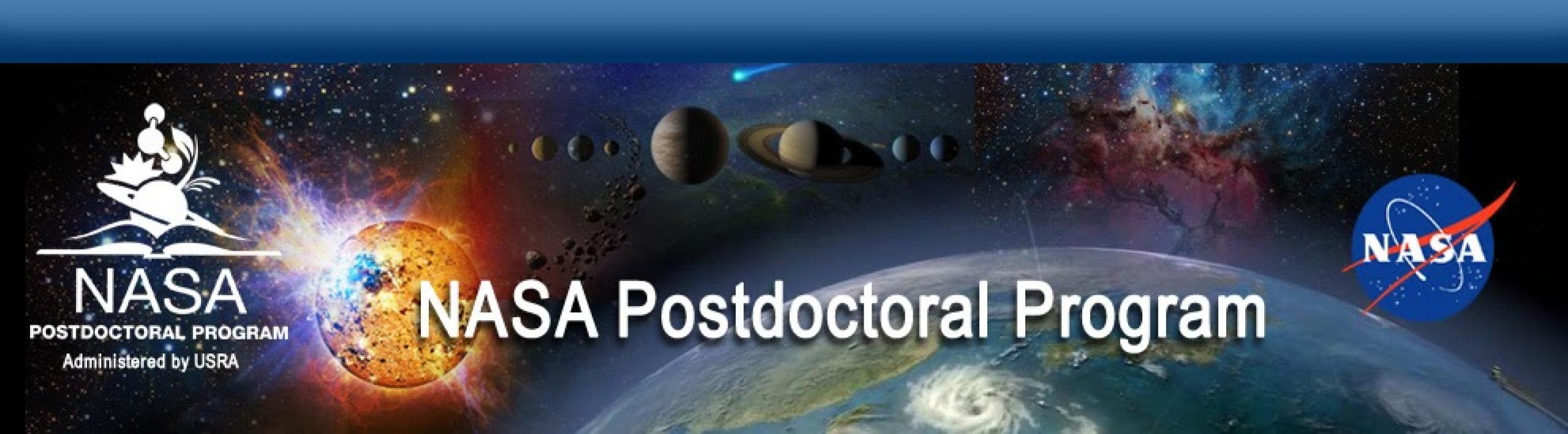 NASA Postdoctoral collage banner