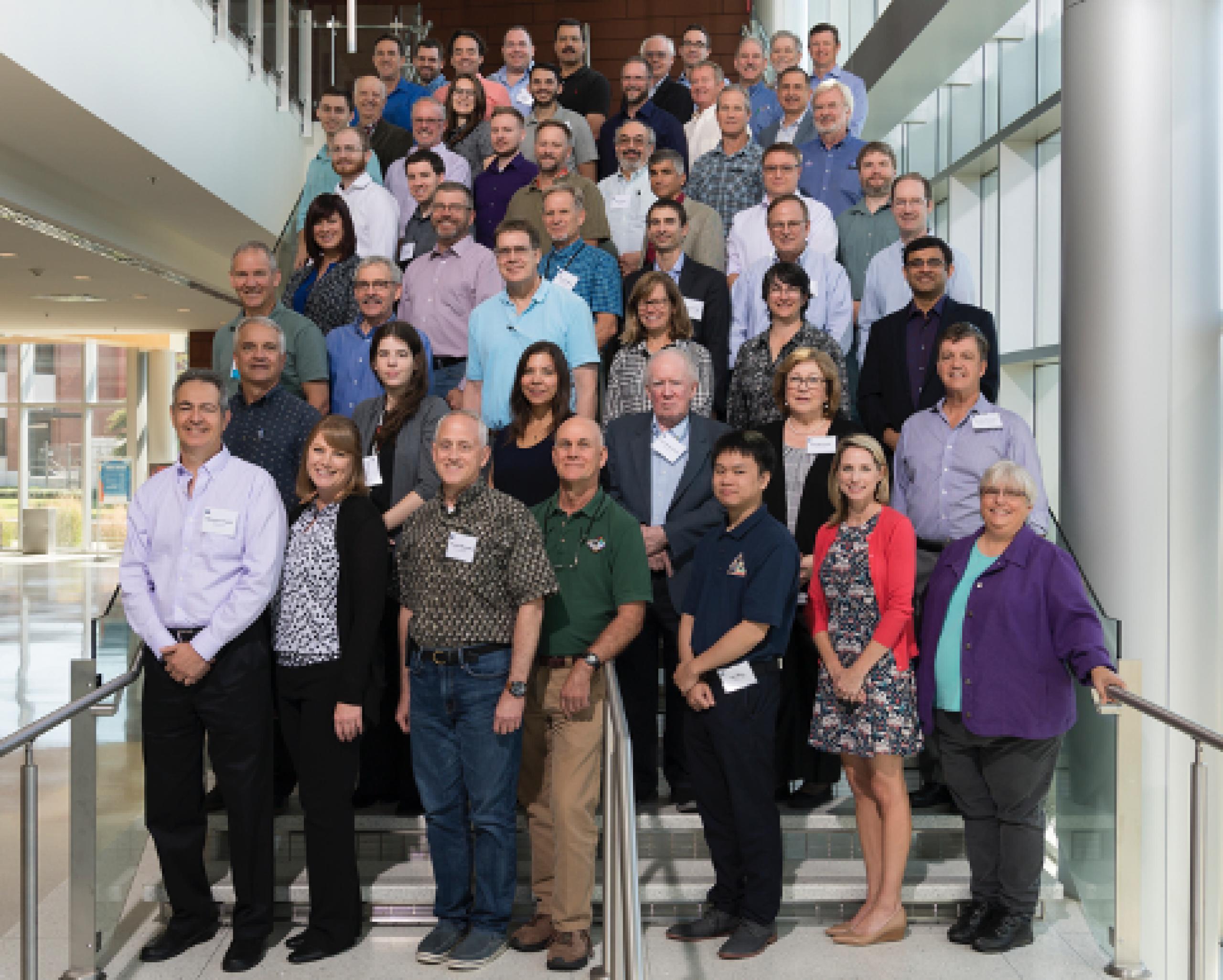 Photo of iSAT study team members