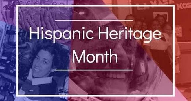 Hispanic Heritage Month collage