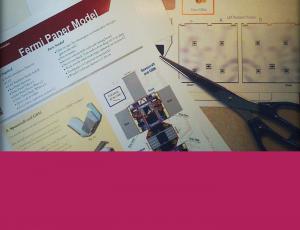 Photo of paper model tools