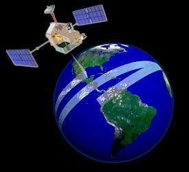 TRMM coverage path - artist's conception
