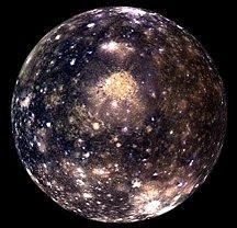 Galileo image of Callisto