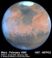 HST image of Mars
