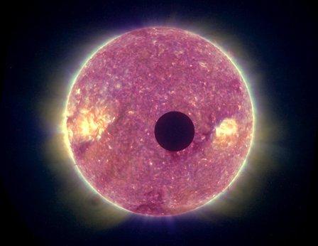 STEREO eclipse movie