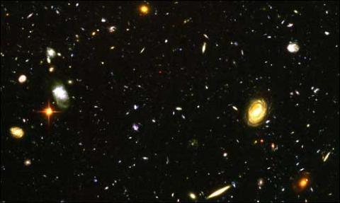 Universe Galaxies-3 Deep Field