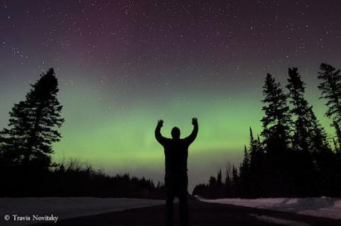 Solar Activity Heats Up (auroras, 550px)