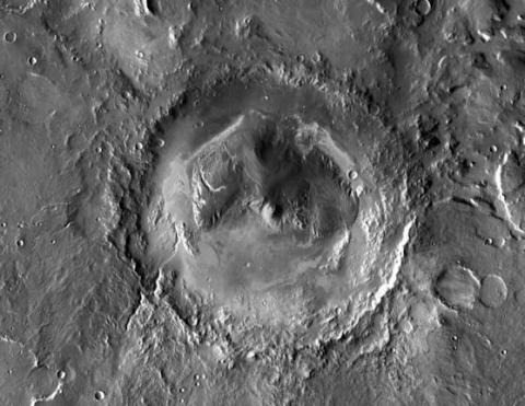 Gale Crater (gale crater, 558px)
