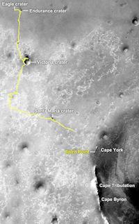 Martian Marathon (marathon route, 200px)