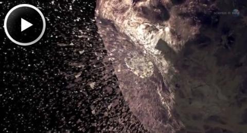 Rock Comet Meteor Shower