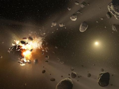 Asteroid Families (strip)