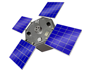 ACRIMSAT spacecraft icon