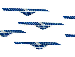 CYGNSS fleet spacecraft icons