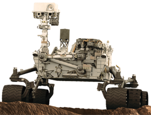 Curiosity spacecraft icon