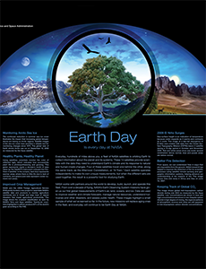 Earth Day Exhibit Poster