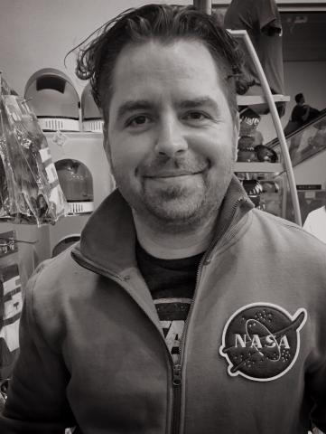 Portrait photo of Keith Gaddis