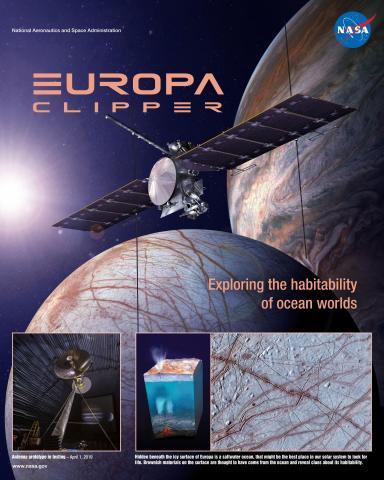 Europa Clipper Mission Poster