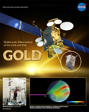 Gold mission poster