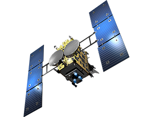 Illustration of Hayabusa spacecraft