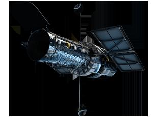 Hubble spacecraft icon