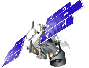 ICESat spacecraft icon