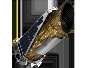Kepler spacecraft icon