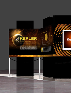 Kepler Exhibit Poster