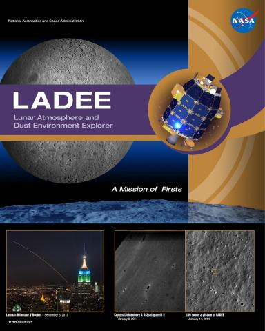 LADEE Mission Poster