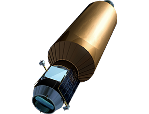 Illustration of LCROSS spacecraft