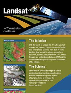 Landsat 8 Exhibit Banner