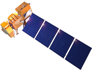 Landsat 7 spacecraft icon