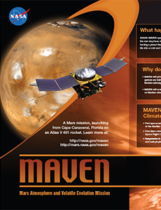 MAVEN Exhibit Poster