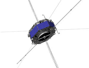 MMS spacecraft icon