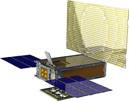 Mars Cube One spacecraft illustration
