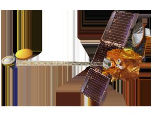 Mars Odyssey spacecraft icon