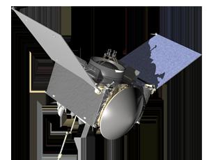 OSIRIS REx spacecraft icon