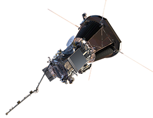 Illustration of Parker Solar Probe spacecraft
