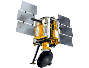 QuikScat spacecraft icon