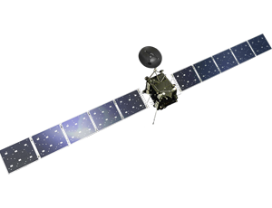Rosetta spacecraft icon