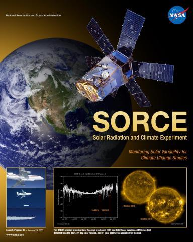 SORCE Mission Poster
