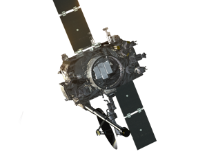 Stereo spacecraft icon