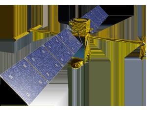 SWOT spacecraft icon