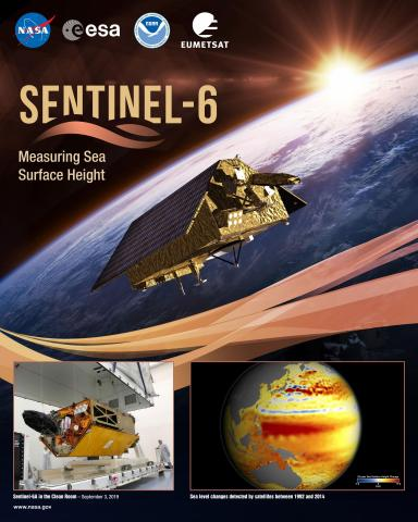 Sentinel 6 Mission Poster