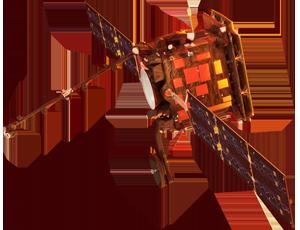 Solar Orbiter spacecraft icon
