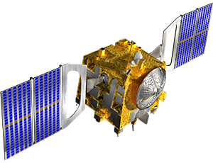 Illustration of Venus Express spacecraft