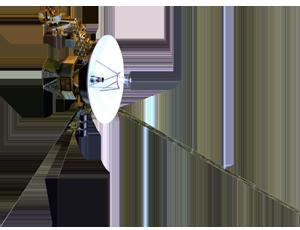 Voyager spacecraft icon
