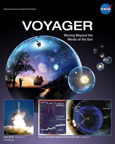 Voyager Mission Poster