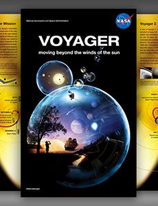 Voyager Exhibit Poster