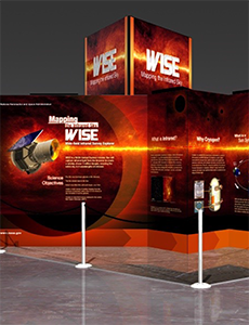 WISE Exhibit Poster
