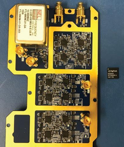 Photo of large circuit board