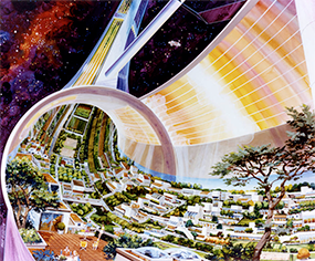 Artwork of NASA earth science